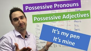 Possessive Pronouns and Adjectives